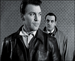 Franco Fabrizi and Lino Ventura in Un temoin dans la ville - Witness in the City